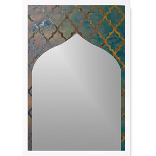 Bungalow Rose Bryce Arabesque Accent Wall Mirror