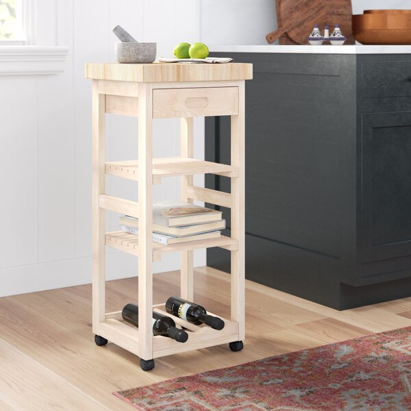 Lynn Kitchen Cart by Mistana