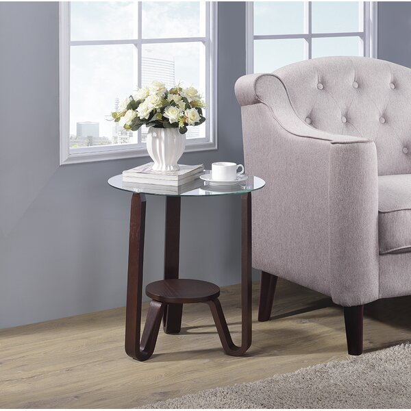 Midlothian End Table by Ivy Bronx