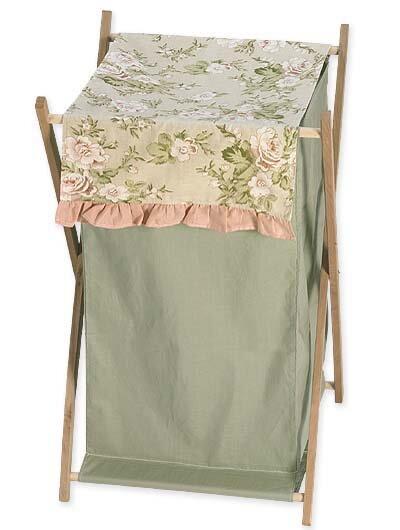 Annabel Laundry Hamper By Sweet Jojo Designs.