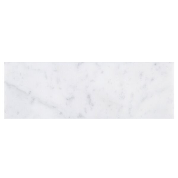 Marble Subway Tile in White by Multile