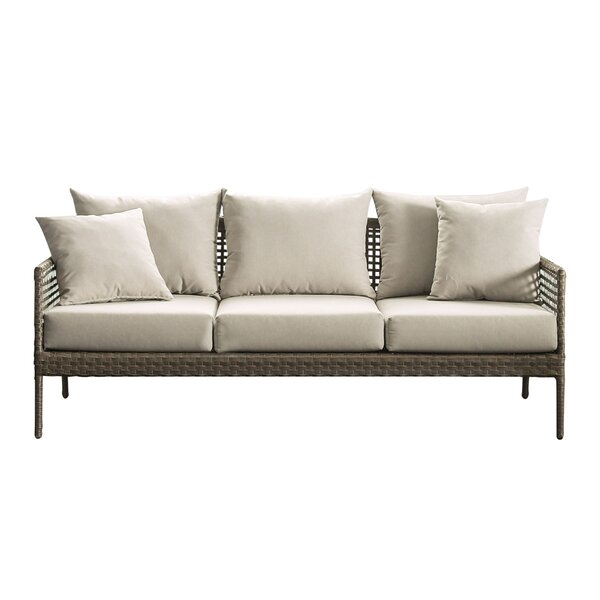 Barling Patio Sofa with Cushions by Bay Isle Home