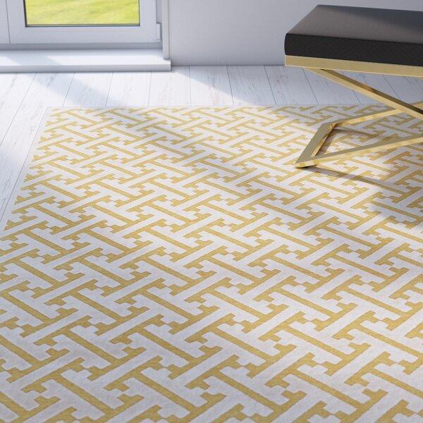 Gwendoline Yellow Area Rug by Willa Arlo Interiors