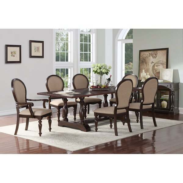 Baskett 7 Piece Dining Set by Canora Grey
