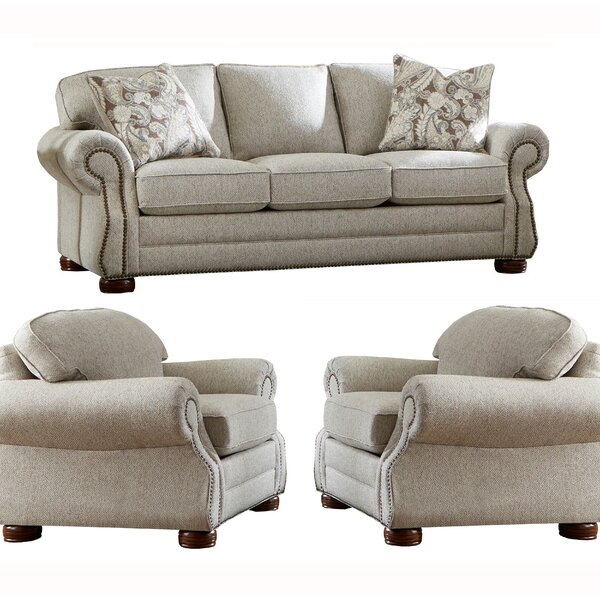 Peel 3 Piece Sleeper Living Room Set by Canora Grey