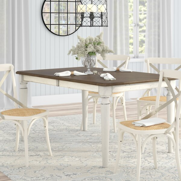 Baleine Extendable Dining Table by Lark Manor