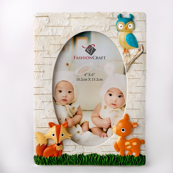 Terrie Animals Picture Frame by Harriet Bee