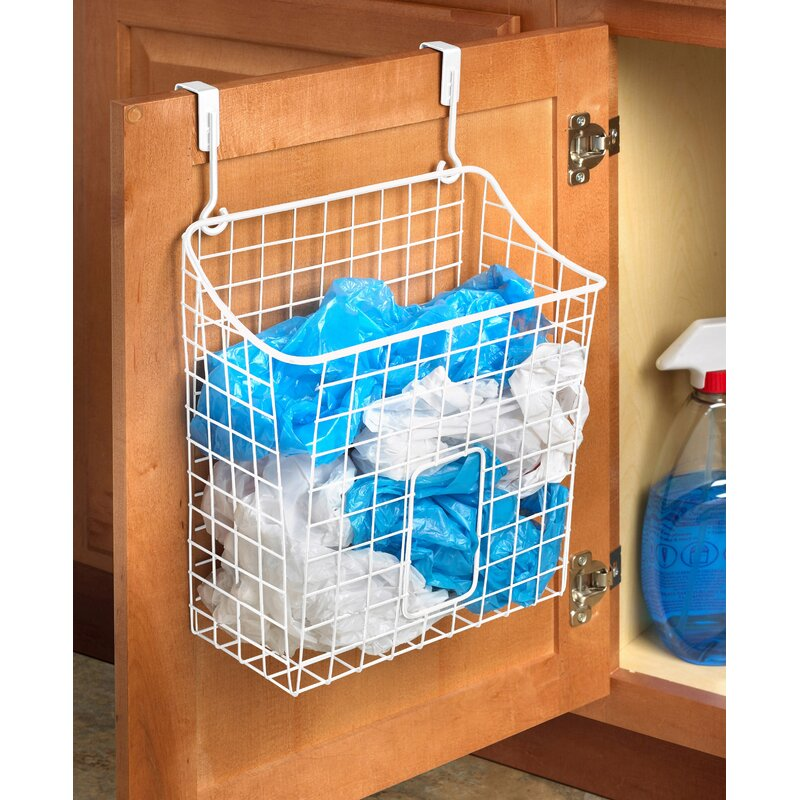 Spectrum Diversified Over The Cabinet Grid Cabinet Door Organizer