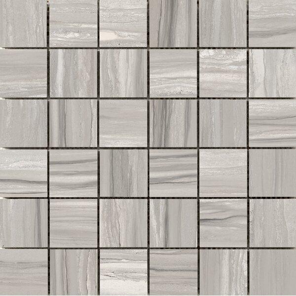 Ciudad 2 x 2 Ceramic Mosaic Tile in Taupe by Emser Tile