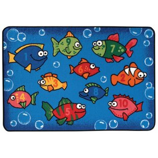 Affordable Something Fishy Kids Rug By Kids Value Rugs