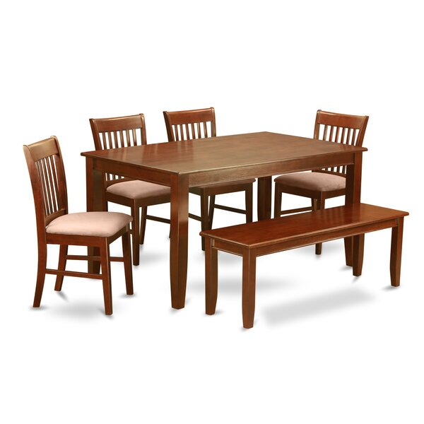 #1 Dudley 6 Piece Dining Set By Wooden Importers Purchase