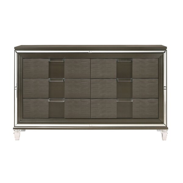 Gilmore 6-Drawer Double Dresser by Mercer41