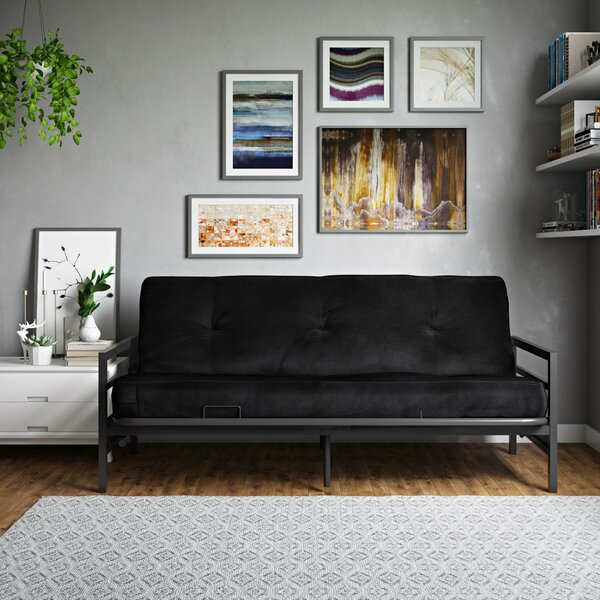 Looking for Oshields Metal Arm Futon And Mattress By Red Barrel Studio Savings