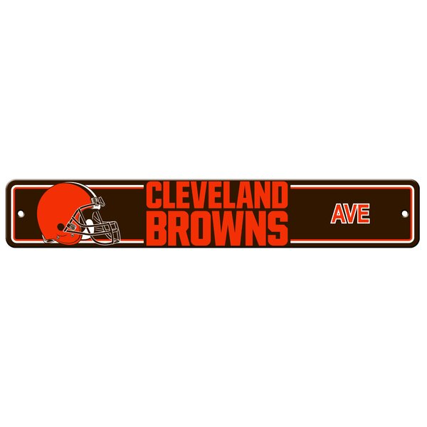NFL Plastic Street Sign by Team Pro-Mark