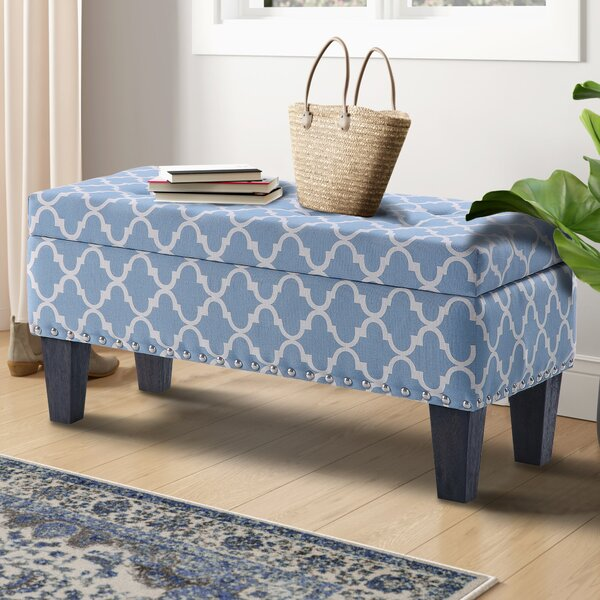 Miamiville Upholstered Flip Top Storage Bench