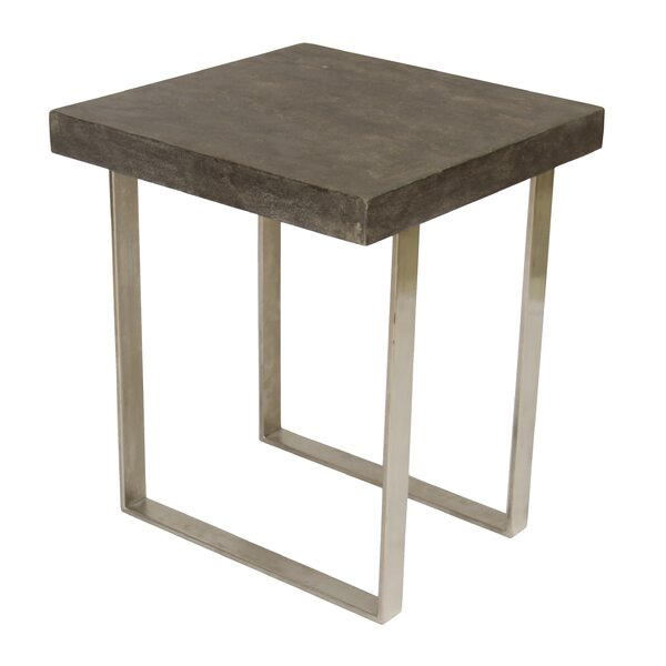 Niehaus End Table by Union Rustic