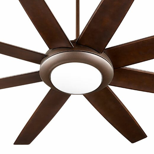 70 Modesto 8 Blade Ceiling Fan by Quorum