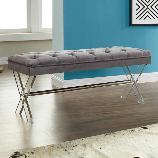 Bottomley Metal Bench by Willa Arlo Interiors