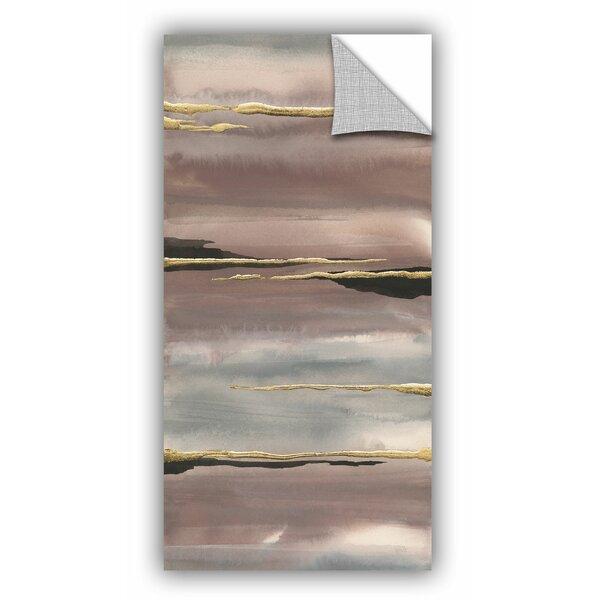 Johnsen Gilded Morning Fog III Wall Decal by Mercer41
