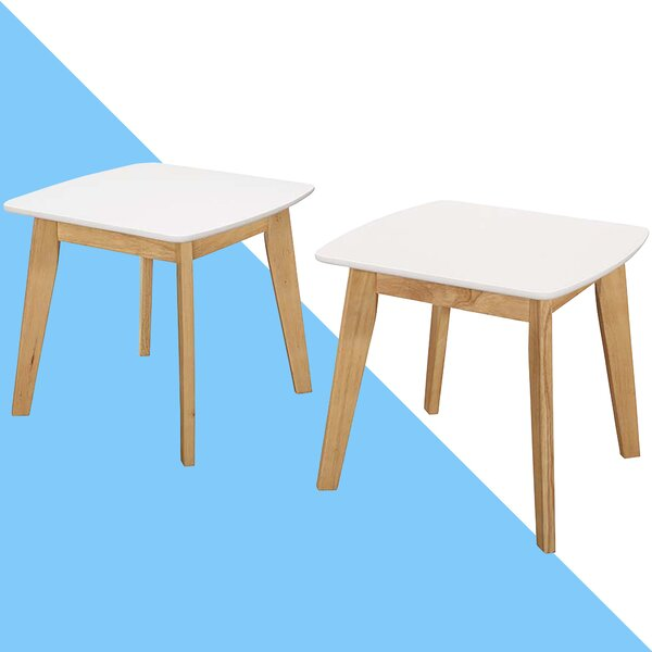 Carlton Modern End Table (Set of 2) by Hashtag Home