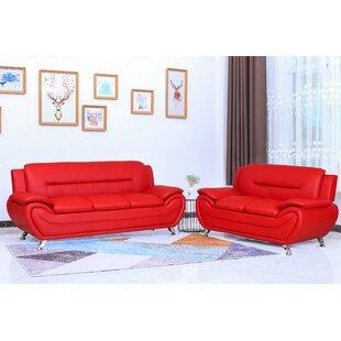 Aadhavan 2 Piece Standard Living Room Set by Orren Ellis