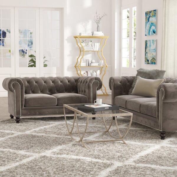 Brooklyn 2 Piece Living Room Set by Mistana