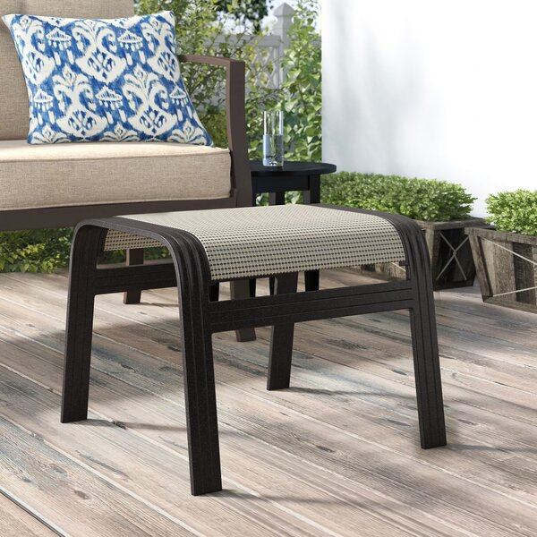 Hymel Outdoor Ottoman By Winston Porter by Winston Porter Cool