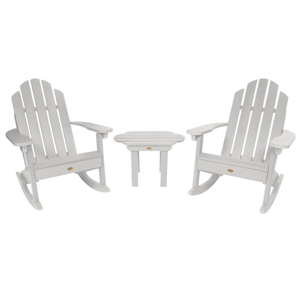 Nelsonville Classic Adirondack Rocking Chairs (Set of 2) by Bay Isle Home