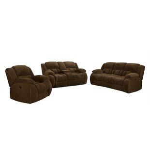 Ericamarie 3 Piece Reclining Living Room Set by Red Barrel Studio®