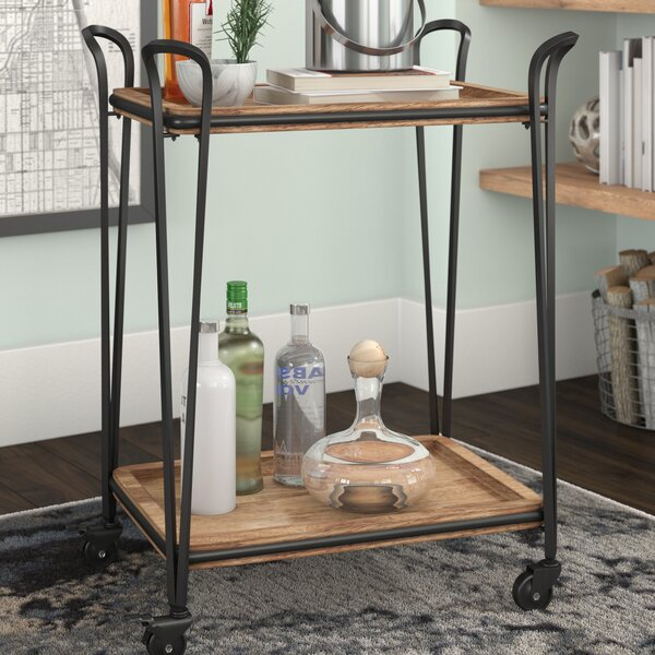 Bemis Bar Cart by Trent Austin Design
