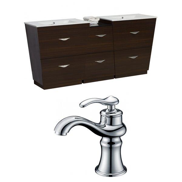 Mcreynolds 74 Double Bathroom Vanity Set