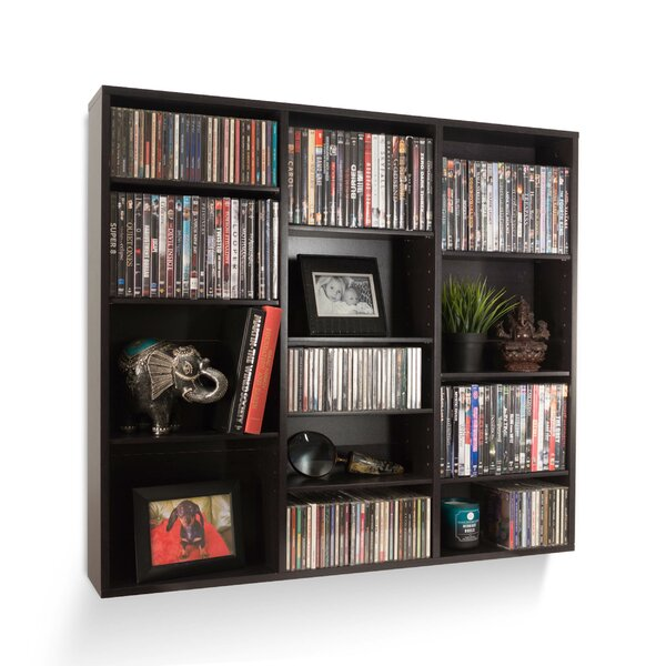 Multimedia Wall Mounted Media Storage By Latitude Run
