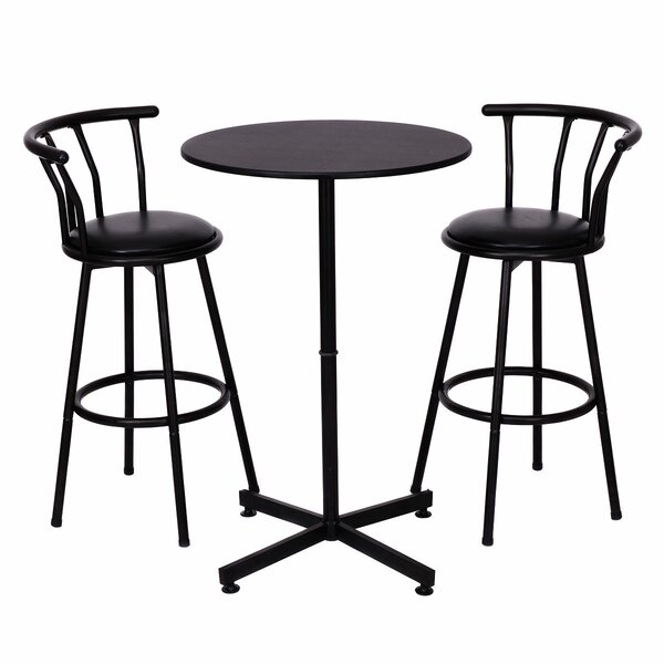 Caseville 3 Piece Pub Table Set by Winston Porter