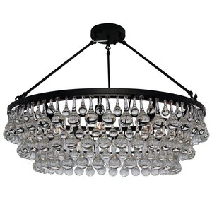 Fabrice 10-Light Semi Flush Mount