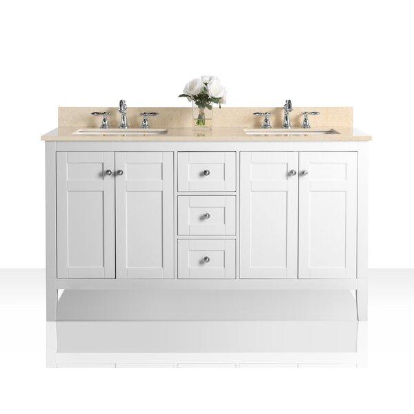 Fuller 60 Double Bathroom Vanity Set