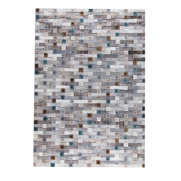 Canopus Handmade Gray Area Rug by M.A. Trading