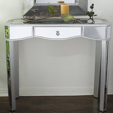 Aleta Mirrored Console Table [House of Hampton]
