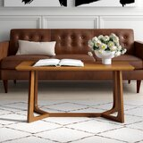 Latham Coffee Table with Tray Top by Mercury Row