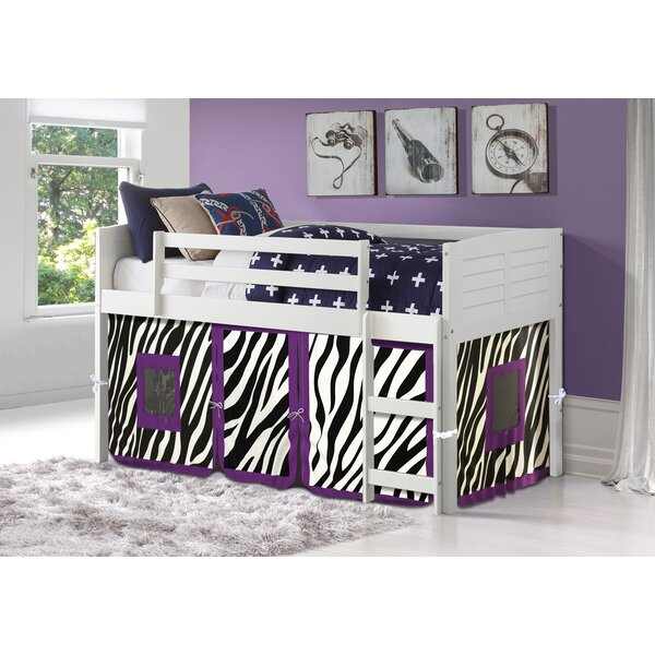 Winona Twin Low Loft Bed By Zoomie Kids