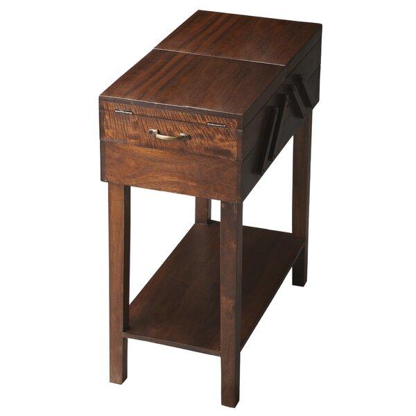 Stephanie Storage End Table by Darby Home Co