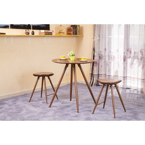 Ainslee 3 Piece Pub Table Set by ACME Furniture