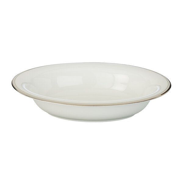 Kilbarry Platinum Salad Bowl by Waterford