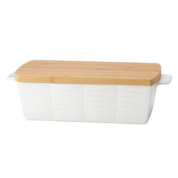 Entertain 365 Sculpture Loaf Pan with Lid by Lenox
