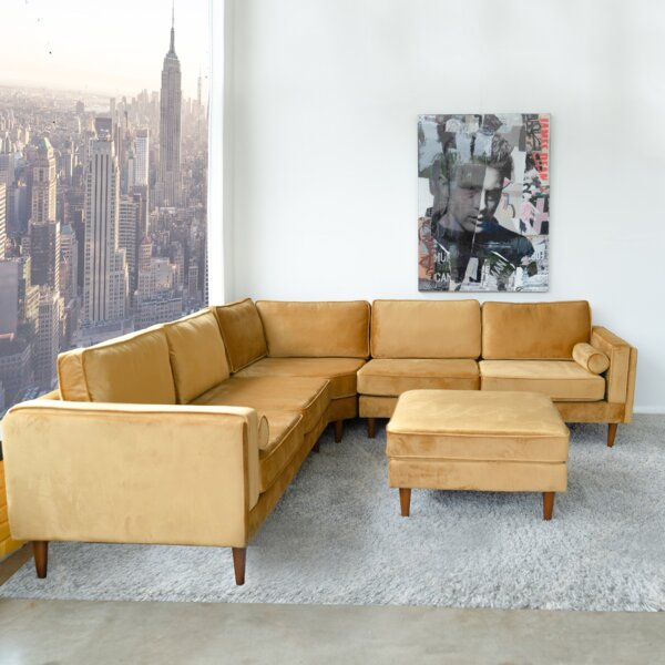 Bulger Symmetrical Sectional by Corrigan Studio