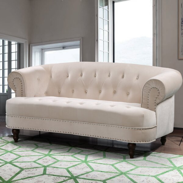 Vinci Chesterfield Loveseat by House of Hampton