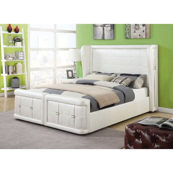 Jourdan Upholstered Standard Bed by Latitude Run
