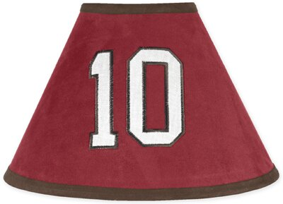 All Star Sports 10 Microsuede Empire Lamp Shade by Sweet Jojo Designs