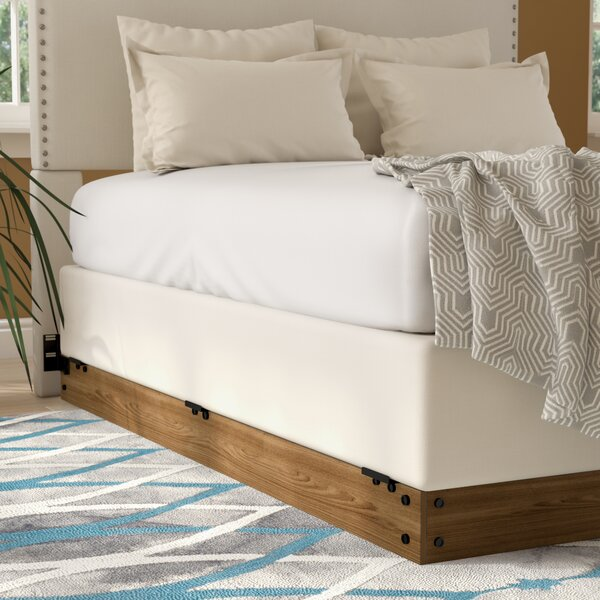 Winston Wood Bed Frame for Box Spring by Zipcode D