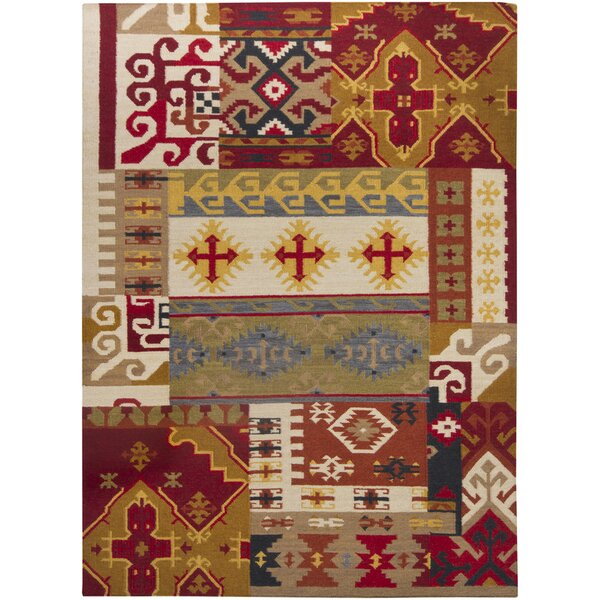 Gupta Hand Woven Rectangle Traditional Area Rug by Bungalow Rose