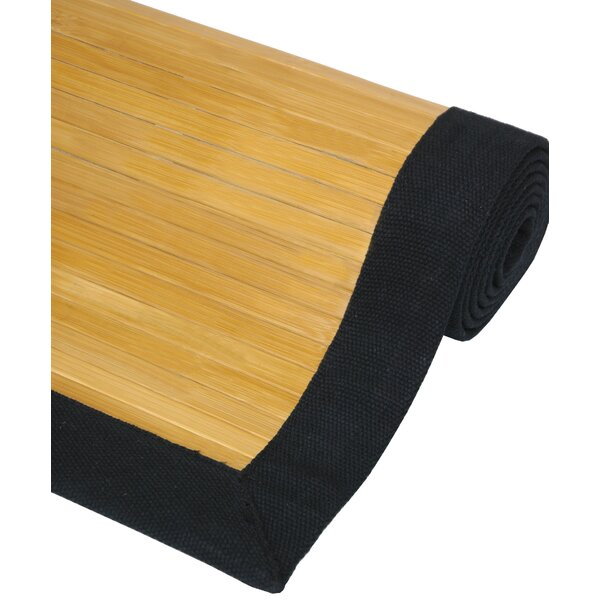 Bamboo Natural Area Rug by Oriental Furniture